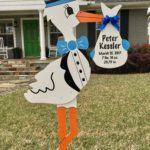 Blue Stork with out Monogram